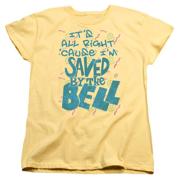 Saved By The Bell Saved Short Sleeve Womens Tee T-Shirt