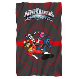 Power Rangers Ninja Team Fleece Blanket