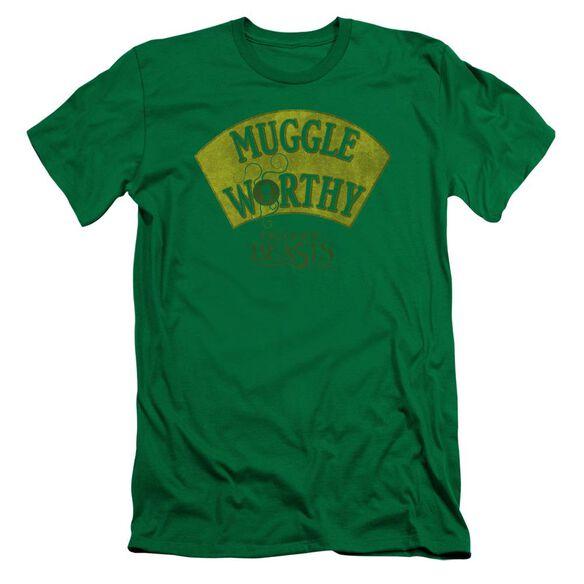 Fantastic Beasts Muggle Worthy Short Sleeve Adult Kelly T-Shirt