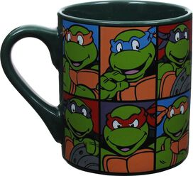 Ninja Turtles Portrait Grid Mug