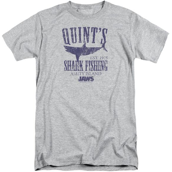 Jaws Quints Short Sleeve Adult Tall Athletic T-Shirt