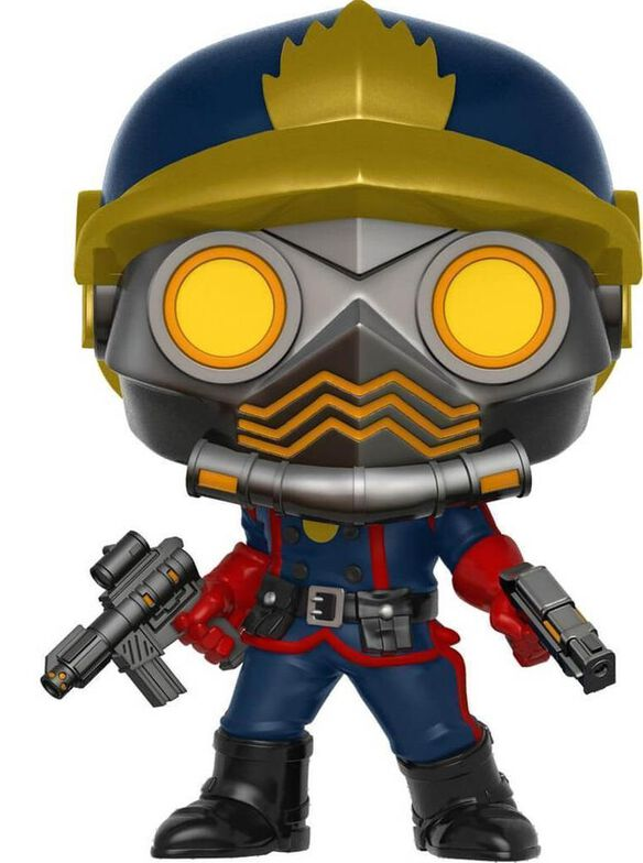 Funko Pop! Guardians of The Galaxy Star-Lord Halloween ComicFest