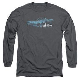 Oldsmobile 68 Cutlass Long Sleeve Adult T-Shirt