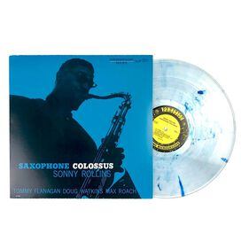 Sonny Rollins - Saxophone Colossus [Exclusive Clear Vinyl with Blue Hi-Melt]