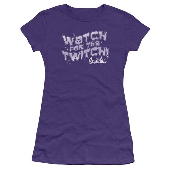 Bewitched The Twitch Hbo Short Sleeve Junior Sheer T-Shirt