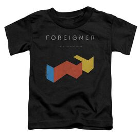 Foreigner Agent Provocateur Short Sleeve Toddler Tee Black T-Shirt