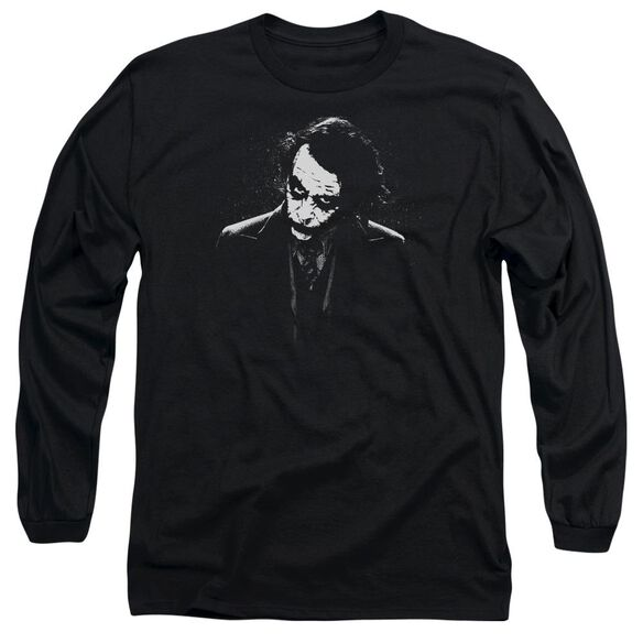Dark Knight Dark Joker Long Sleeve Adult T-Shirt