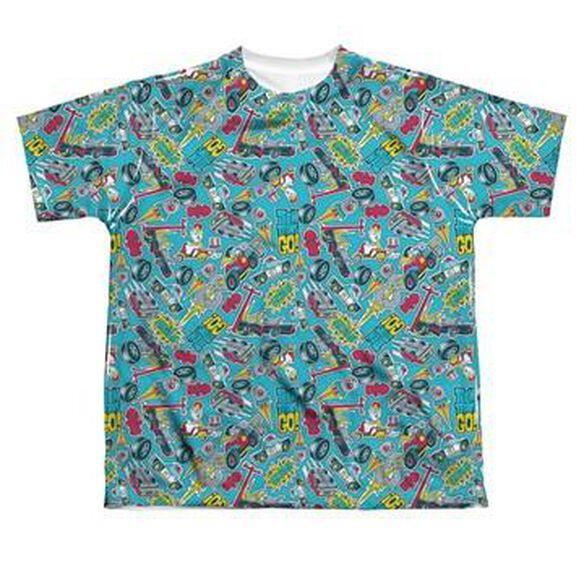 Teen Titans Go Jumble Dye Sub Youth T-Shirt
