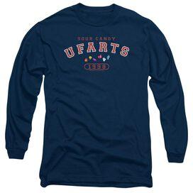 Farts Candy Fart University Long Sleeve Adult T-Shirt