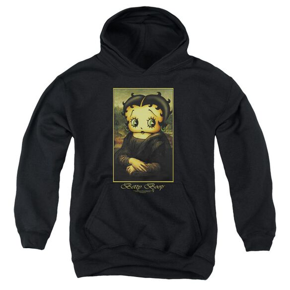 Betty Boop Boopalisa Youth Pull Over Hoodie