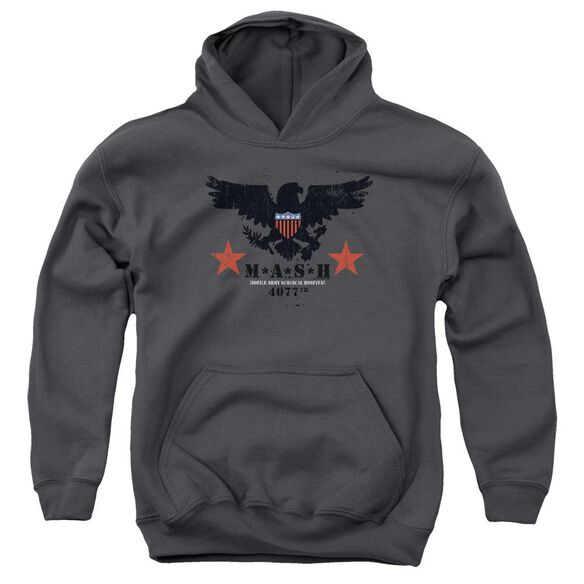 Mash Eagle Youth Pull Over Hoodie