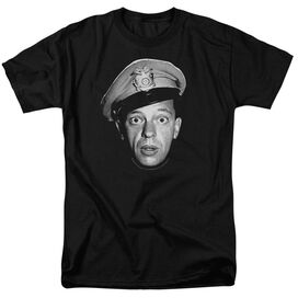 Andy Griffith Barney Head Short Sleeve Adult T-Shirt