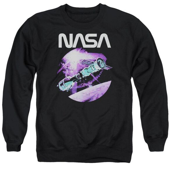 Nasa Come Together Adult Crewneck Sweatshirt