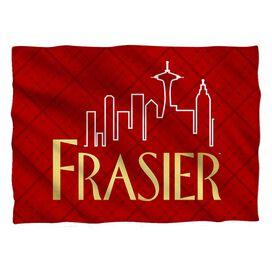 Frasier Logo Pillow Case White