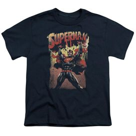 Superman Lift Up Short Sleeve Youth T-Shirt