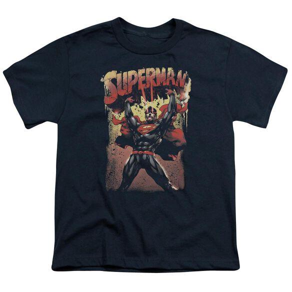 Superman Lift Up Short Sleeve Youth T-Shirt
