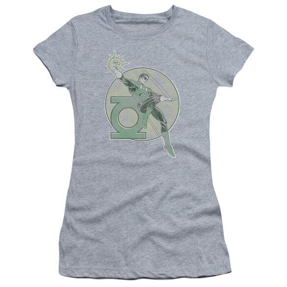 Dco Retro Lantern Iron On Short Sleeve Junior Sheer Athletic T-Shirt