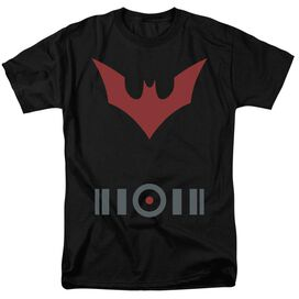 Batman Beyond Beyond Uniform Short Sleeve Adult Black T-Shirt