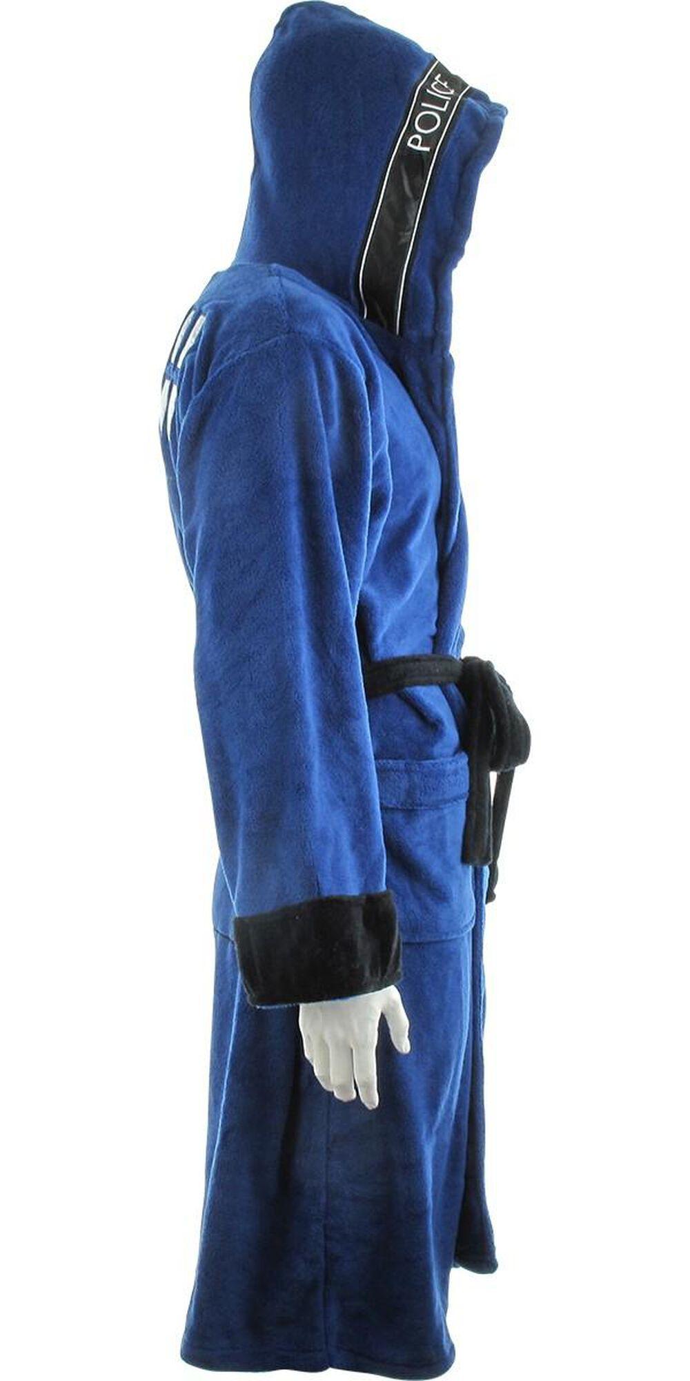 Doctor Who TARDIS Hooded Fleece Robe  857ddee03