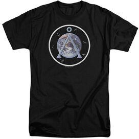 Sg1 Earth Emblem Short Sleeve Adult Tall T-Shirt