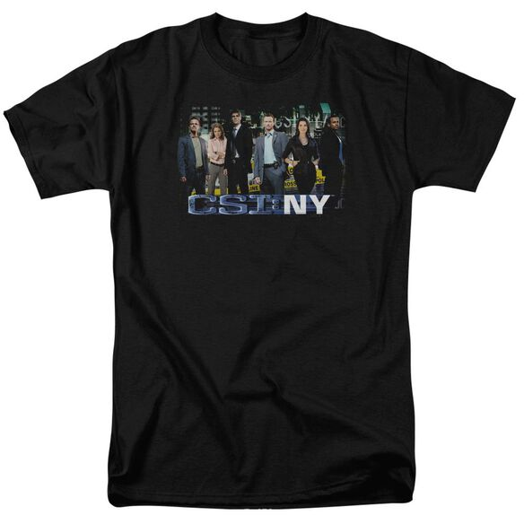 Csi Ny Cast Short Sleeve Adult T-Shirt