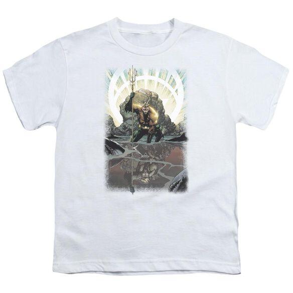 Jla Brightest Day Aquaman Short Sleeve Youth T-Shirt