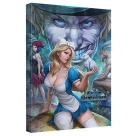 Zenescope Alice Quickpro Artwrap Back Board