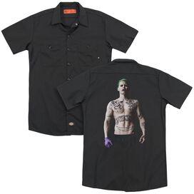 Suicide Squad Joker Stance (Back Print) Mens Regular Fit Polo