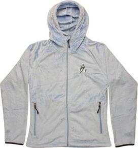 Star Trek TOS Sciences Hooded Fleece Womens Jacket