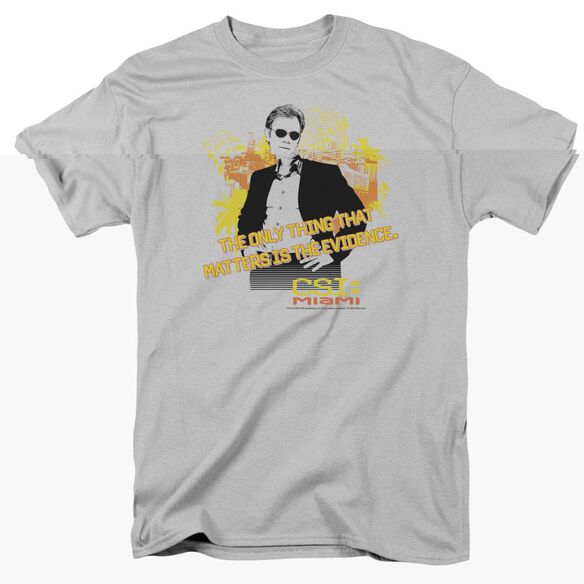 CSI MIAMI HAND ON HIPS - S/S ADULT 18/1 - SILVER T-Shirt