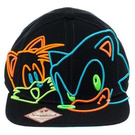Sonic the Hedgehog Tails Neon Lights Hat