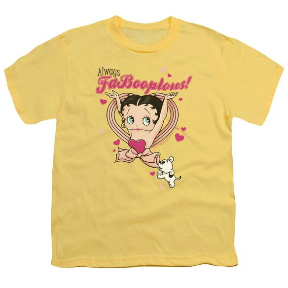 Betty Boop Fabooplous! Short Sleeve Youth T-Shirt