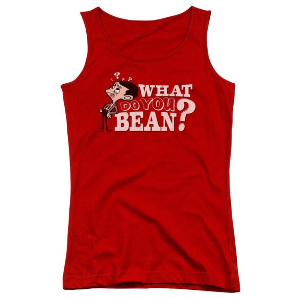 Mr Bean What You Bean Juniors Tank Top