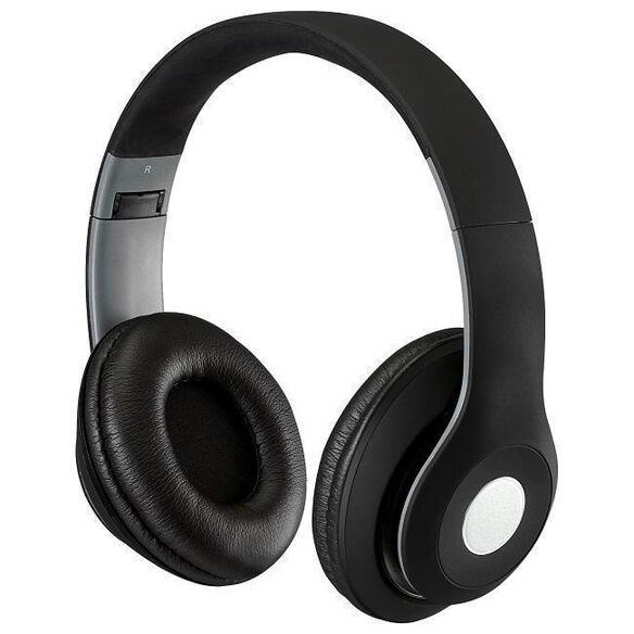 SoundAura Matte Bluetooth Headphone [Black]