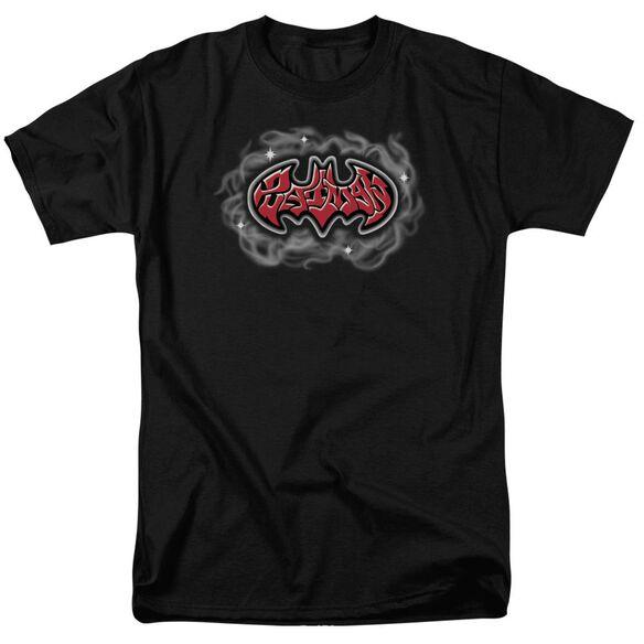 Batman Hip Hop Logo Short Sleeve Adult T-Shirt