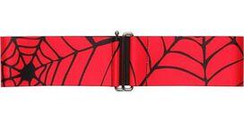Spiderman Black Webs on Red Cinch Waist Belt