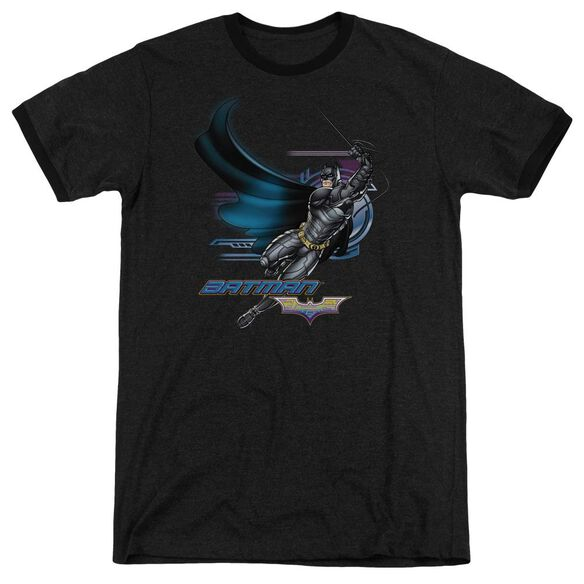 Dark Knight Flyer Adult Heather Ringer