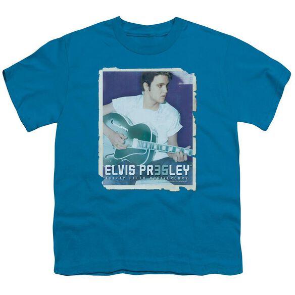 Elvis 35 Guitar Short Sleeve Youth T-Shirt
