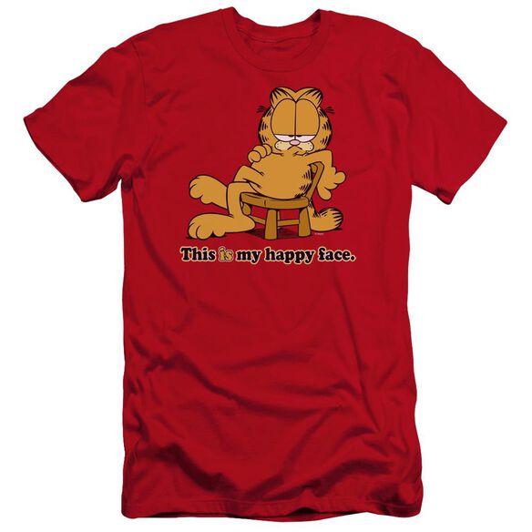 Garfield Happy Face Premuim Canvas Adult Slim Fit