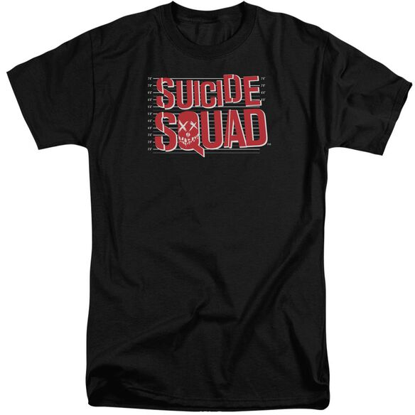 Suicide Squad Lineup Logo Short Sleeve Adult Tall T-Shirt