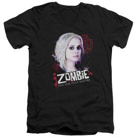 Izombie Take A Bite Short Sleeve Adult V Neck T-Shirt