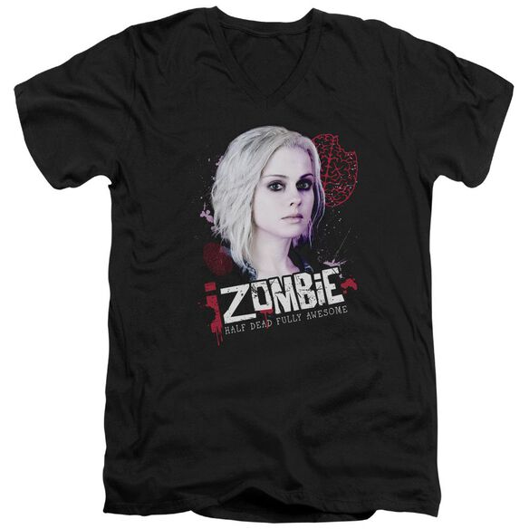 Izombie Take A Bite Short Sleeve Adult V Neck T-Shirt