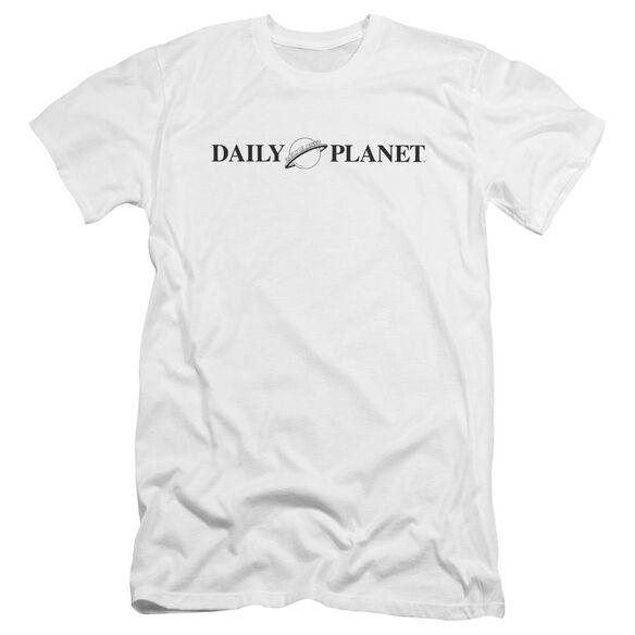 Superman Daily Planet Logo Premuim Canvas Adult Slim Fit
