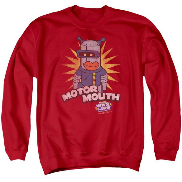 Dubble Bubble Motor Mouth Adult Crewneck Sweatshirt