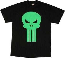 Punisher Green Skull T-Shirt
