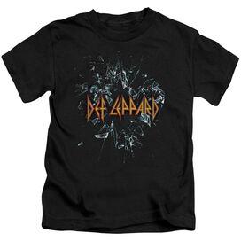 Def Leppard Broken Glass Short Sleeve Juvenile T-Shirt