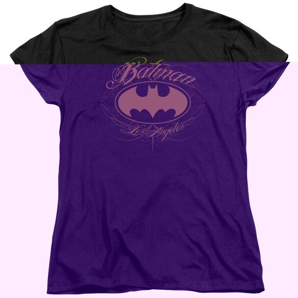 BATMAN BATMAN LA - S/S WOMENS TEE - BLACK T-Shirt