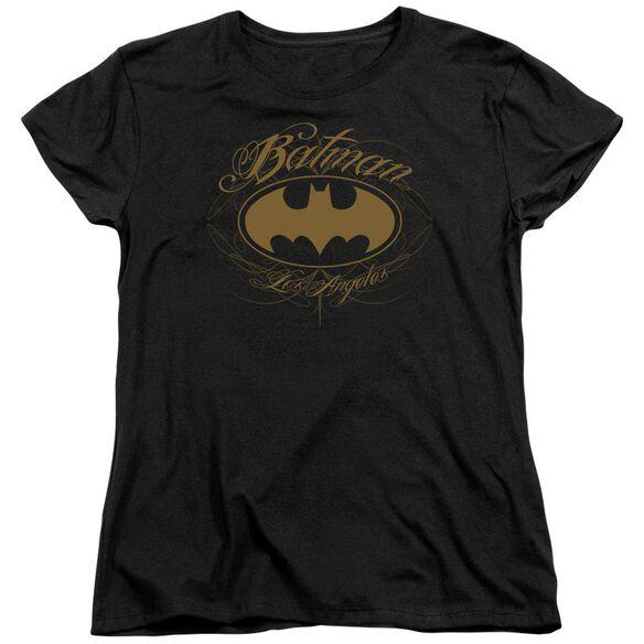 Batman Batman La Short Sleeve Womens Tee T-Shirt
