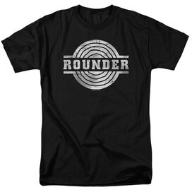 ROUNDER ROUNDER RETRO - S/S ADULT 18/1 - BLACK T-Shirt
