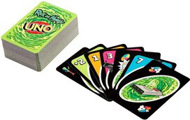 Mattel Games - UNO: Rick And Morty